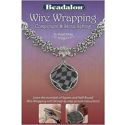 Wire Wrapping Component And Stone Setting Booklet New