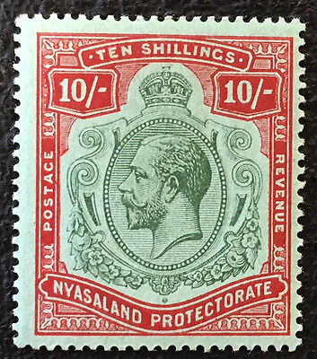 NYASALAND  PROTECTORATE  22  Very Nice Mint Light  Hinged GEORGE V  Issue  UC608