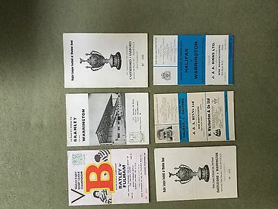 Collection of 43 Rugby League Programmes from the 1970's and 1980's