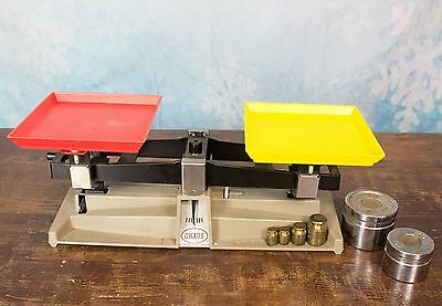 Ohaus School Balance Scale Model 1200 Plus Extra Weights