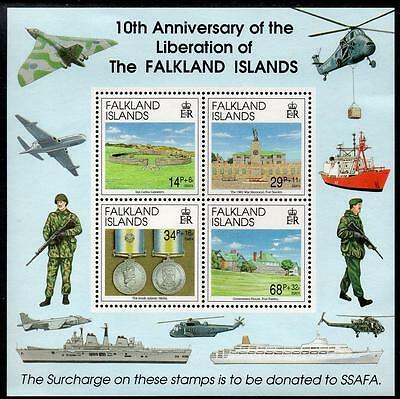 FALKLANDS MNH 1992 The 10th Anniversary of Liberation