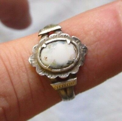 Antique Medieval Silver Ring  old Spanish Crusaders Pirate Treasure Times 16th