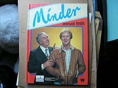 MINDER ANNUAL 1985 by Leon Griffiths Book The Cheap Fast Free Post