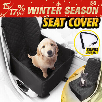 Waterproof Pet Car Dog One Seat Cover Pad Cat Safe Travel Hammock Mat Cradle