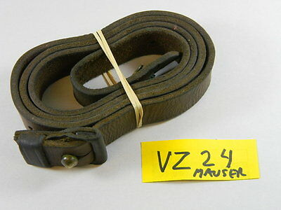 Mauser Vz 24 Leather Sling With Keeper