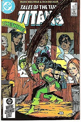 Tales Of The Teen Titans  #52 & #57 - 1985