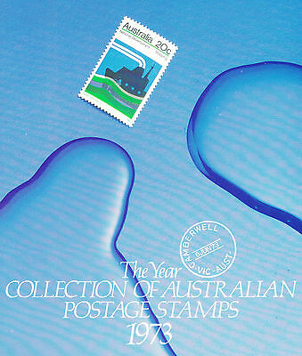 1973 Sherwood The Year Collection of Australian Stamps
