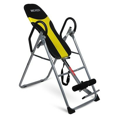 Therapy Inversion Table Back Pain Relief Hang Exercise Fitness Up Machine