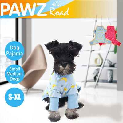 525f5621903e Pet Large Dog Cat Clothes Pajama Jumpsuit Kitten Puppy Sleepwear Cozy  Apparel