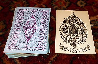 ANTIQUE PLAYING CARDS -  Goodall And Son Bezique  Deck  c.1865