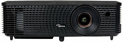 NEW Optoma DS348 Home & Business Digital Projector SVGA Full 3D 3000 Lumens HDMI