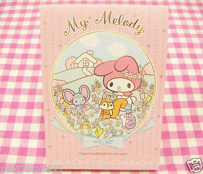 Sanrio My Melody Memo Pad / Made in Japan Stationery 2015