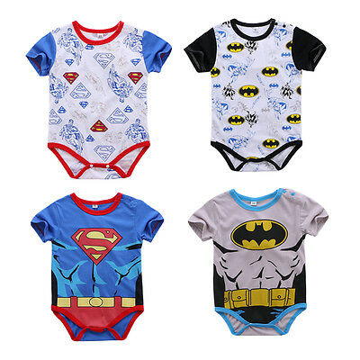 baby boy clothes summer bodysuit cotton playsuit daily party jumpers superhero