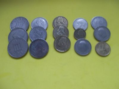 Small Job Lot Of 15  Greek Coins [#913] Well Worth A Look Buy Now Bargain