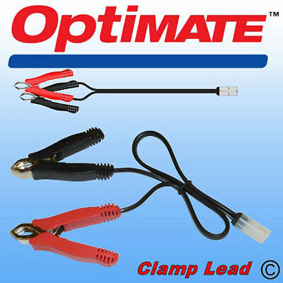 High Quality Optimate Alligator/Battery Clamp Lead White TM Connectors (TM74)
