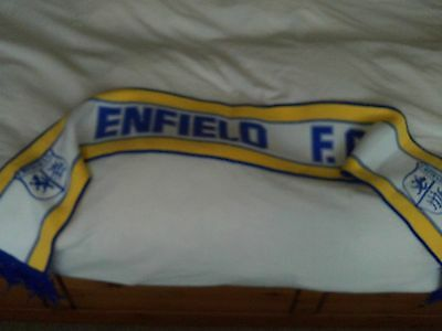 ENFIELD FC Old Football Scarf FREE POST UK