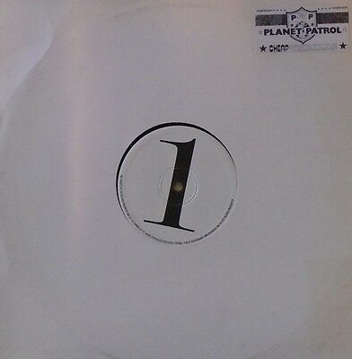 "PLANET PATROL - Cheap Thrills - 12"" Single PROMO"