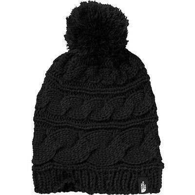 NEW The North Face Women's Triple Cable Pom Beanie
