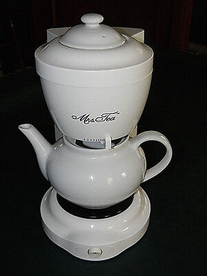NEW UNUSED Mrs. Tea  by Mr. Coffee Electric Tea Maker 6cp Model HTM1D - NO BOX
