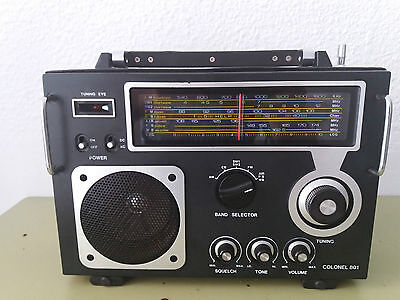 Radio Multibandas Colonel-801