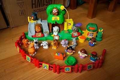 Fisher Price Little People Zoo Baby Toddler Kids Toy - Not Working