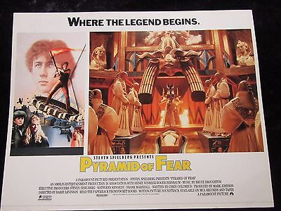YOUNG SHERLOCK HOLMES and the PYRAMID OF FEAR lobby card #3 SPIELBERG