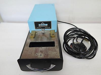 Hepco Model 3000-2 Pneumatic Lead Forming and Cutting Machine w/ Foot Pedal