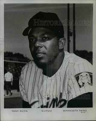 Press Photo Tony Oliva, Outfielder for the Minnesota Twins - orc07882