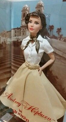 Audrey Hepburn In ROMAN HOLIDAY - 2013 Barbie Doll - BRAND NEW!!
