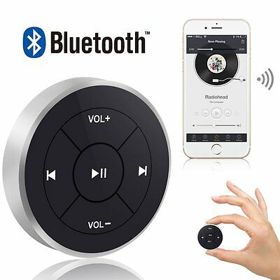 Bluetooth Wireless Audio Steering Wheel Media Remote Control Button For Phone