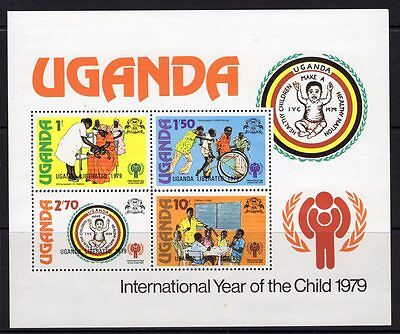 Uganda Sgms248 1979 Year Of The Child Mnh