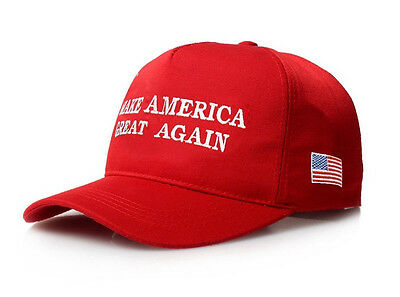 New Make America Great Again - Donald Trump 2016 Hat Cap Red - Republican