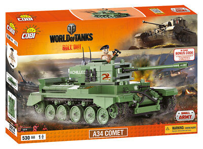 Cobi 3014 - World Of Tanks - Wwii British A34 Comet - Neu