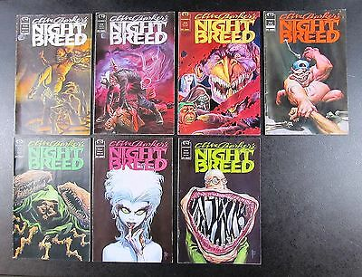 7 Issues Of Clive Barker's NIGHT BREED From Epic Comics - 1990-1991