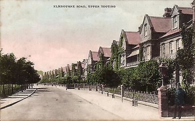 Upper Tooting. Elmbourne Road # 1147 by The Wykeham Collection. Policeman.