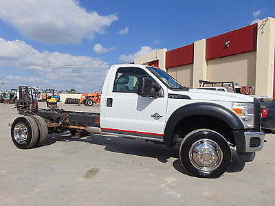 "2011 Ford Other Pickups  2011 FORD F-550 ""CAB & CHASSIS"" 6.7 DIESEL - PAYLOAD PLUS PKG - P.T.O. -"