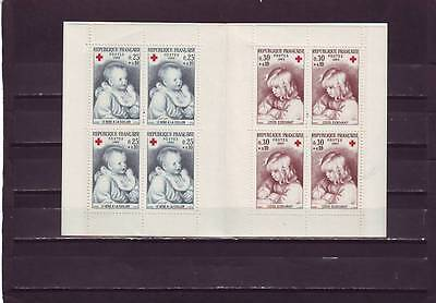 a119 - FRANCE - SGXSB15 MNH 1965 RED CROSS BOOKLET