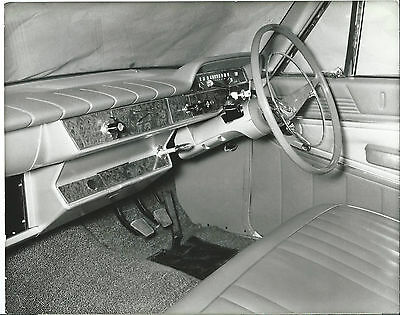 Ford Zephyr 6 Six Original Official Ford Press Photograph Facia Dashboard