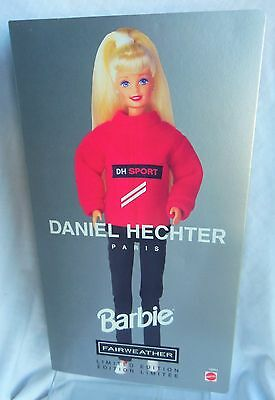 Daniel Hechter Paris, FAIRWEATHER BARBIE doll LE 1997 MIB
