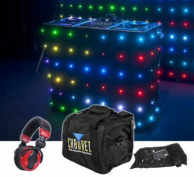 Chauvet DJ Motion Facade LED Animated Front Board MOTIONFACADELED + Headphones