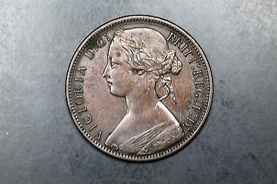 Great Britain one penny 1867 Victoria Eric Newman #1609269-175