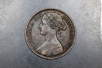 Great Britain one penny 1865 Victoria Eric Newman #1609269-172