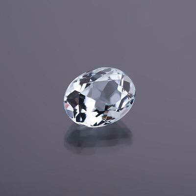 AGUAMARINA GENUINA Ovalo media 5,0x4,0mm peso: 0,42 Ct 91)