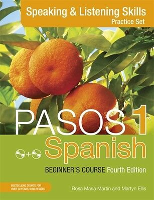 Pasos 1 (Fourth Edition): Spanish Beginner's Course: Speaking and Listening Ski.