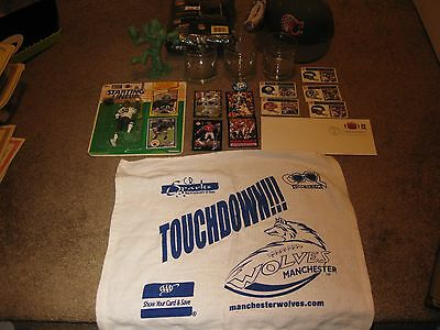 Lot of NFL Football Items