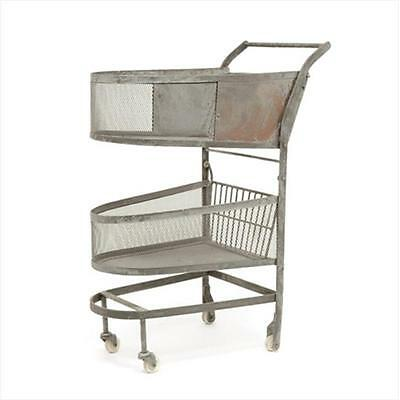 Deco Home Vintage Shopping Cart