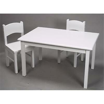 Giftmark 1406W Childrens Table & Chair Set White
