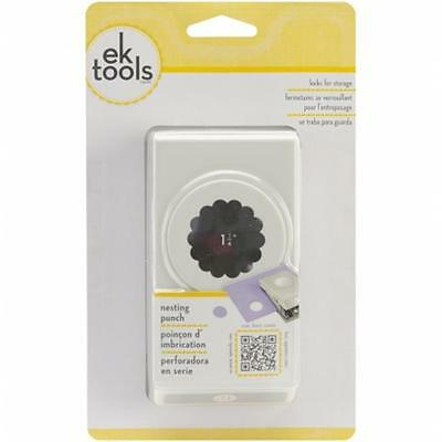 EK Success E5431007 Large Punch-Scallop Circle, 1.25''