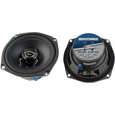 Hogtunes Front Speakers 100W Harley FLHTCUTG Tri Glide Ultra Classic 2009-2013