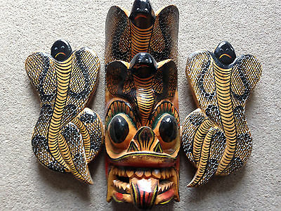 Beautiful 'Snake' style Mask (Sri Lanka)